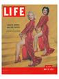 LIFE Marilyn & Jane Russel Birinci Sınıf Giclee Baskı ilâ Anonymous
