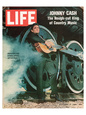 LIFE Johnny Cash Rough-cut King Birinci Sınıf Giclee Baskı ilâ Anonymous