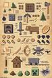 Minecraft- Craft Pictograph plakat