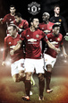 Manchester United- Team plakat