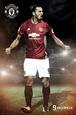Manchester United- Ibrahimovic plakat