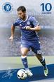Chelsea F.C.- Hazard 16/17 Pôster