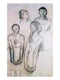 Four Studies of Dancers