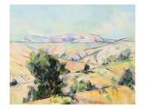 Mountain Landscape by Paul Cezanne