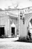 !Viva Mexico! B&W Collection - Urban Scene in Izamal IV