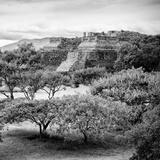 !Viva Mexico! Square Collection - Pyramid Maya of Monte Alban