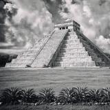 !Viva Mexico! Square Collection - El Castillo Pyramid - Chichen Itza IX
