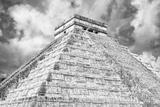 !Viva Mexico! B&W Collection - Chichen Itza Pyramid XIV
