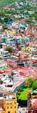 !Viva Mexico! Panoramic Collection - Guanajuato Colorful City VII