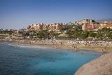 Spain, Canary Islands, Tenerife, Costa Adeje, Playa Del Duque, Elevated View