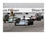 Historical race cars at Grand Prix, Nurburgring