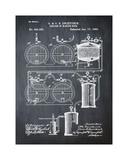 Brewery Patent 1891 Chalk