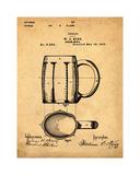 Beer Mug Sepia