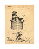 Wine Making 1893 Sepia