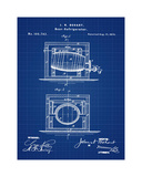 Beer Cooler 1875 Blueprint