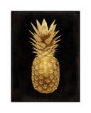 Gold Pineapple on Black II