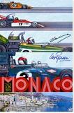 1973 Monaco Grand Prix F1 Race Poster
