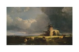St. Benets Abbey, on the Bure, c1854