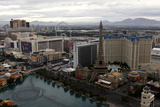 Aerial View of Las Vegas at Sunrise in Nevada, USA