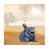 My Hippo Friend