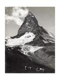 Near Zermatt, Switzerland. the Matterhorn Is One of the Best known Mountains in the Alps