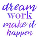 Dream Work Purple