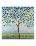 Tree in Blue