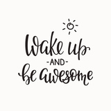 Lettering Quotes Motivation for Life and Happiness. Calligraphy Inspirational Quote. Morning Motiva
