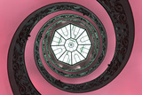 Dolce Vita Rome Collection - The Vatican Spiral Staircase Hot Pink
