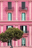 Dolce Vita Rome Collection - Pink Building Facade II
