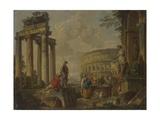 The Coliseum Amongst Roman Ruins, c.1730