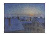 Sunrise over Stockholm Rooftops, 1903