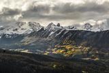 Lizard Head, Mt Wilson, Wilson Peak, & El Diente Peak During Autumn Storm, San Juan Mts, Colorado