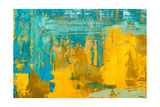 Abstract Art Background. Oil Painting on Canvas. Multicolored Bright Texture. Fragment of Artwork.