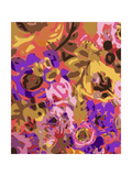 Warm Abstract Floral I