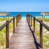 Cuba Fuerte Collection SQ - Boardwalk on the Beach III