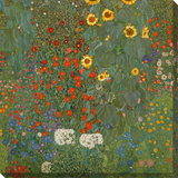 Farm Garden with Sunflowers, 1905-06