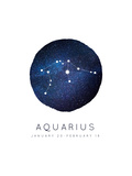 Aquarius Zodiac Constellation