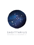 Sagittarius Zodiac Constellation