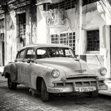 Cuba Fuerte Collection SQ BW - Old Chevrolet of Havana