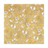 Color my World Lotus Pattern Gold