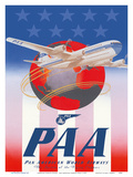 American Stars & Stripes - Pan American Airways (PAA) - Boeing 377 Stratocruiser