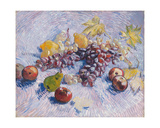 Grapes, Lemons, Pears, and Apples, 1887.