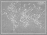 Explorer - World Map - Graphite
