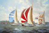 Summer Racing Off Cowes