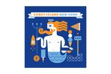 Coney Island Merman