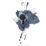 Blue & Black Splash II