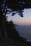 Sunset on the Pacific Coast, San Francisco, California