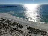 View at Pensacola Beach, Florida. November 2014.
