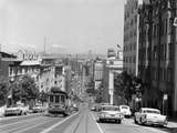 1950s-1960s Cable Car in San Francisco California